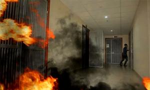 Những cách thoát nạn khi cháy chung cư