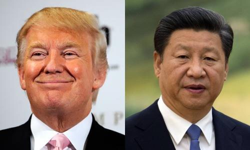 Tổng thống Mỹ đắc cử Donald Trump và Chủ tịch Trung Quốc Tập Cận Bình. Ảnh: WSJ,