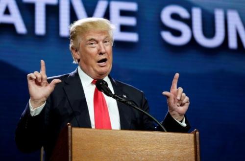 Tổng thống Mỹ mới đắc cử Donald Trump. Ảnh: Reuters