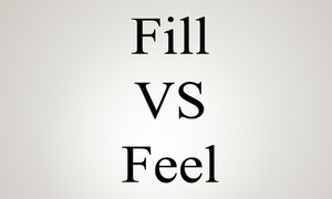 Đáp án: Fill hay Feel?