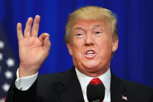 Tổng thống Mỹ mới đắc cử Donald Trump. Ảnh: