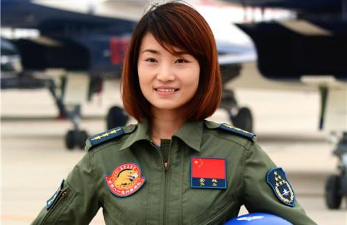 Nữ phi công Yu Xu người Trung Quốc. Ảnh: