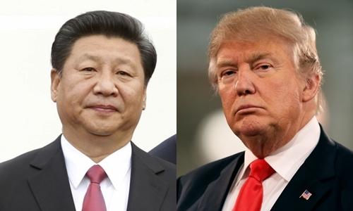 Chủ tịch Trung Quốc Tập Cận Bình (trái) và tổng thống Mỹ đắc cử Donald Trump. Ảnh: Reuters/Business Insider.