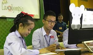 Đại học FPT xuất khẩu ViOlympic sang Lào