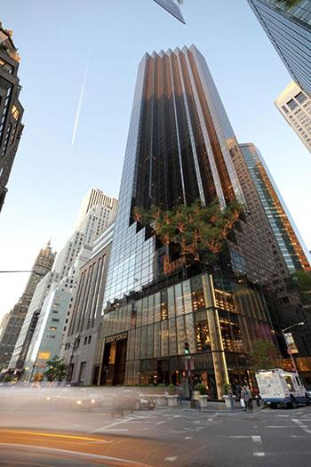 Căn penthouse của ông Trumpnằm ở tầng 58
