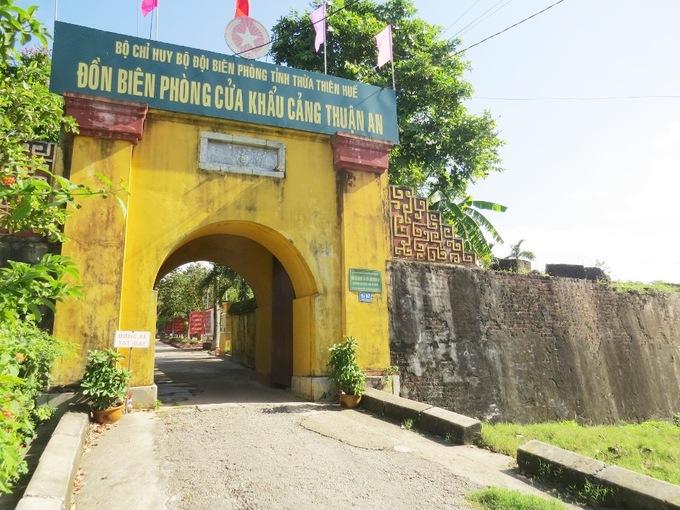 Dấu tích pháo đài quân sự của triều Nguyễn