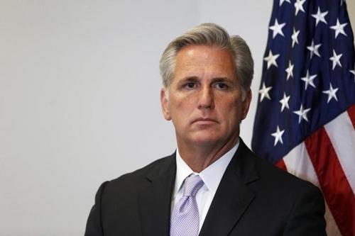 Lãnh đạo phe đa số Hạ viện Kevin McCarthy. Ảnh: Reuters.