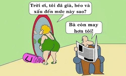 Phụ nữ xấu là nỗi bất hạnh của đàn ông