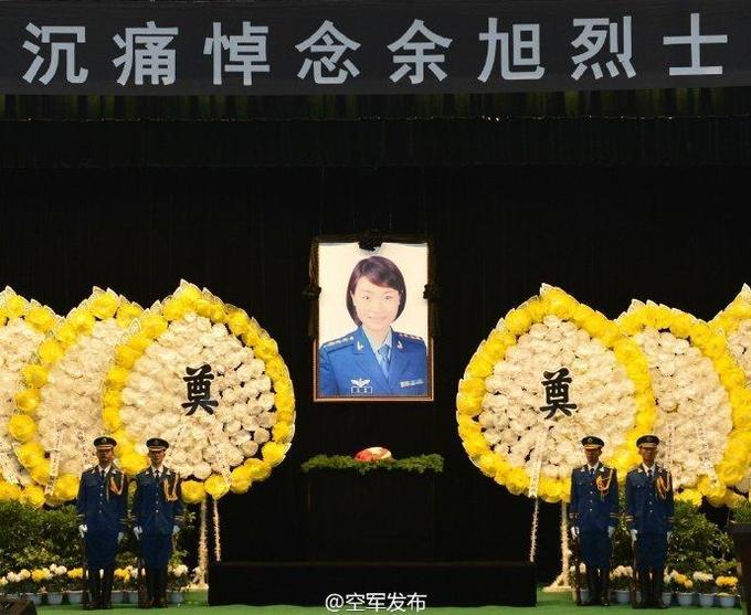 Trung Quốc truy điệu nữ phi công đầu tiên lái J-10 tử nạn
