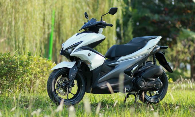 Yamaha NVX đầu tiên về Hà Nội