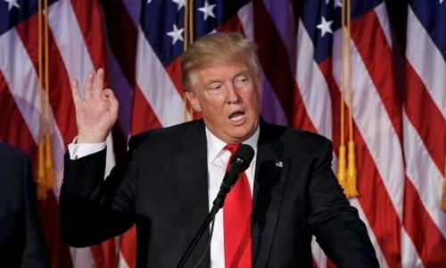 Tổng thống đắc cử Donald Trump. Ảnh: Reuters.