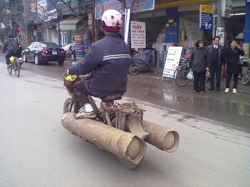Bàn gạt chân xe máy chất nhất Việt Nam.