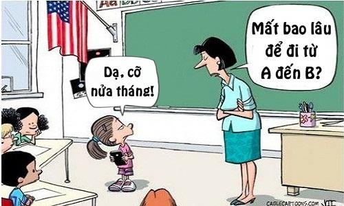 Cô giáo choáng váng trước tài tính toán của học trò -  ngày 20/11, ngày nhà giáo Việt Nam, truyện cười ngày 20/11