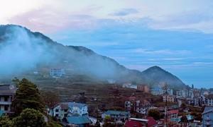 'Vùng đất trên mây' Tam Đảo vào mùa đông