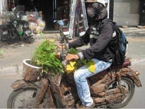 Xe máy thân thiện môi trường.