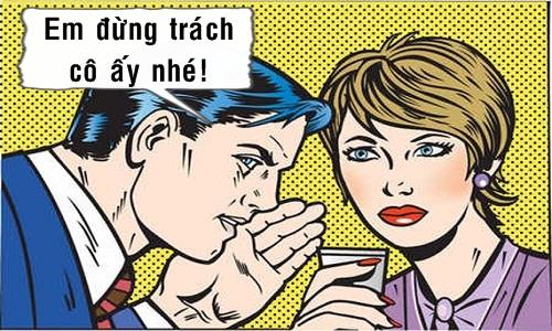 Chồng khuyên vợ cảm thông với người phụ nữ khác -10 truyện cười hot nhất tuần qua
