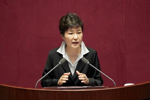 Tổng thống Hàn Quốc Park Geun-hye. Ảnh: businesskorea