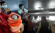 Sản phụ sinh con trai đầu lòng trên tàu Phú Quốc - Rạch Giá