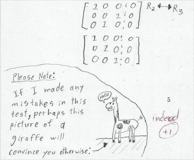 Những câu trả lời hài hước của học sinh thế giới