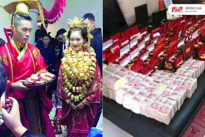 Những đám cưới xa hoa ở Trung Quốc