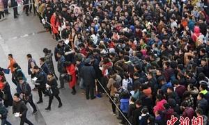 Cuộc chiến giữa một triệu người thi công chức ở Trung Quốc