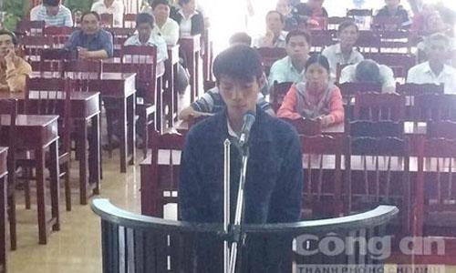 Bị cáo Hà Phúc Thuận.