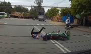 Những pha thoát chết tai nạn giao thông khó tin ở Việt Nam (P2)