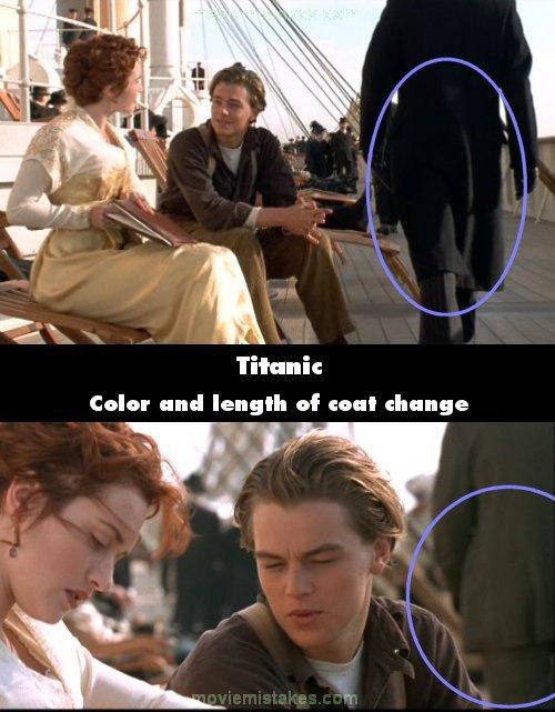 Từ chiếc áo đen dài, người đàn ông lạ mặt đã kịp đổi thành chiếc áo xám ngắn thời thượng ngay khi Rose và Jack còn chưa nói xong một câu.