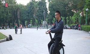 Xe điện một bánh độc nhất tại Việt Nam