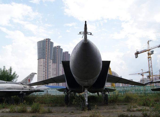 Nghĩa địa máy bay quân sự Nga ở Moscow