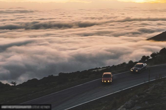 Drift xe trên ngọn núi của các vị thần