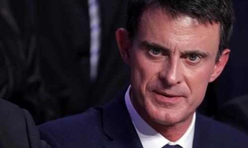 Thủ tướng Pháp Manuel Valls. Ảnh: Reuters.\