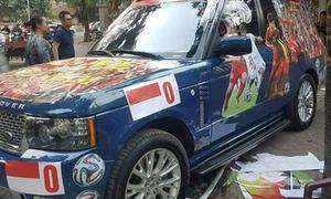 Range Rover 3 tỷ phủ kín ảnh, dự đoán VN thắng Indonesia 2-0