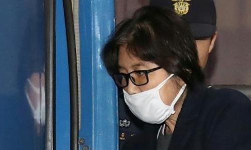 Bà Choi Soon-sil, bạn thân tổng thống Hàn Quốc. Ảnh: AFP.