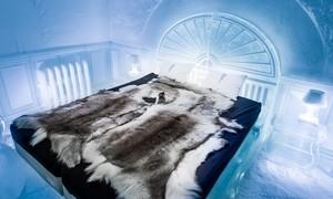 Khách sạn băng mở cửa cả mùa hè ở Thụy Điển