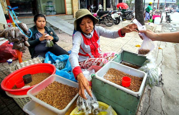 Chợ sâu bọ dành cho đàn ông nuôi chim ở Sài Gòn