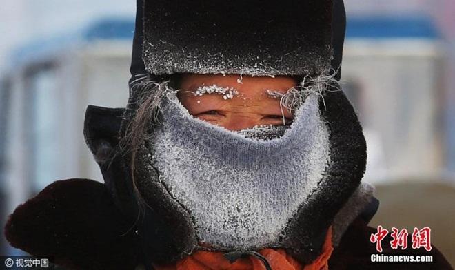 Giá lạnh kỷ lục âm 43 độ C ở Nội Mông, Trung Quốc