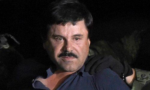 Trùm ma túy El Chapo Guzman. Ảnh: AFP