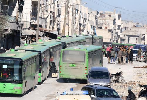 20 xe buýt và 10 xe cứu thương đang được sử dụng