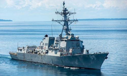 Tàu USS Mustin. Ảnh: Naval Today.