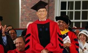 Học tiếng Anh: Bill Gates tự nhận mình là tấm gương xấu