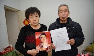 Cha mẹ tử tù bị hành hình oan ở Trung Quốc đòi bồi thường 2 triệu đô