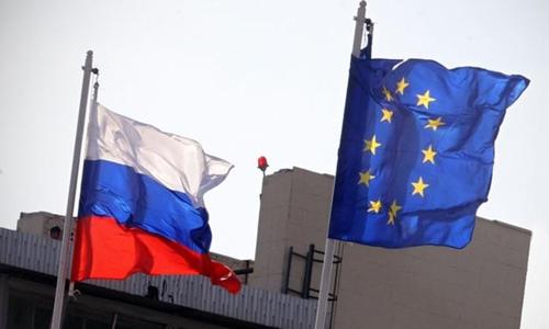 Liên minh châu Âu gia hạn trừng phạt Nga thêm 6 tháng. Ảnh minh họa: Tass.