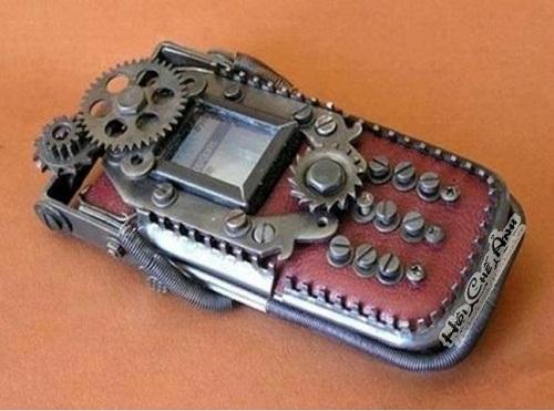Điện thoại của dân cơ khí.