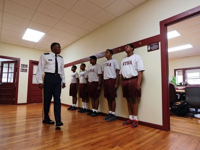 Kỷ luật sắt ở học viện quân sự Donald Trump từng theo học