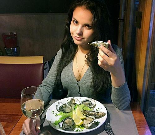 Anastasia Tsirenschikova. Ảnh: CEN