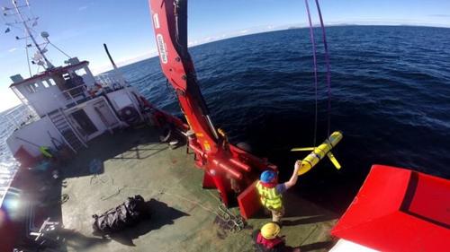 thiết bị lặn không người lái (UUV) của hải quân Mỹ bị Trung Quốc thu giữ.