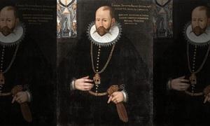Râu tóc chứa đầy vàng trên hài cốt nhà thiên văn học thế kỷ 16