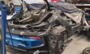 BMW i8 7 tỷ độc nhất Việt Nam nát như phế liệu trong garage