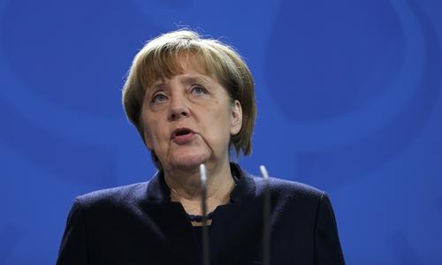 Thủ tướng Đức Angela Merkel. Ảnh: Reuter.s
